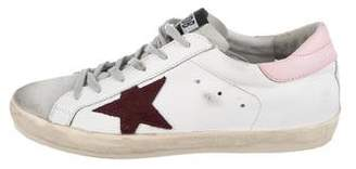 Golden Goose Leather Low-Top Sneakers