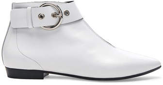 Isabel Marant Leather Rilows Ankle Boots