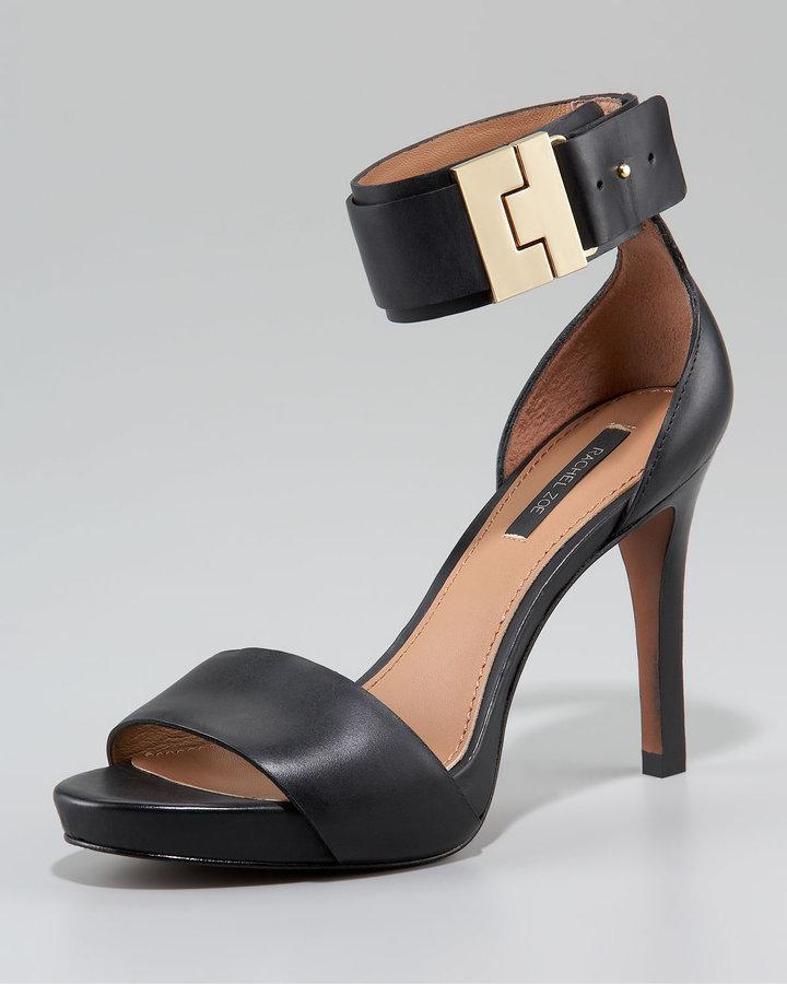 Rachel Zoe Ankle-Wrap Sandal