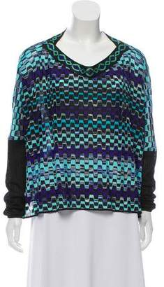 Missoni Mare Oversize Knit Top