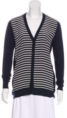 Max Mara Striped Knit Cardigan