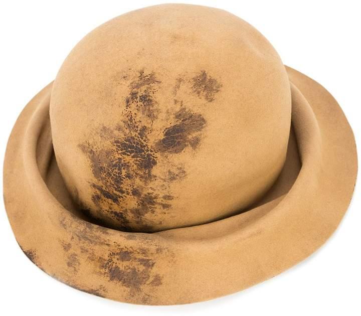 Horisaki Design & Handel burned effect bucket hat