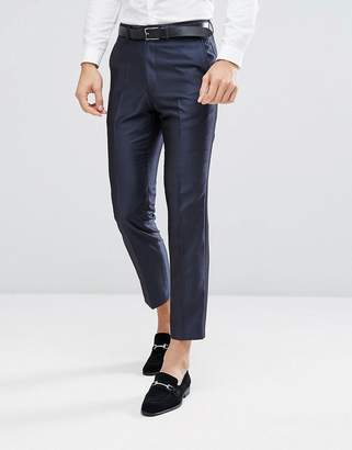 French Connection Skinny Wedding Suit PANTS in Tonic