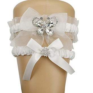 Keepsake Topwon Lace Wedding Garters and Toss Garter
