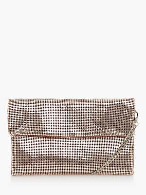 Dune Edisco Embellished Clutch Bag