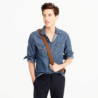 J.Crew Slim lightweight denim workshirt