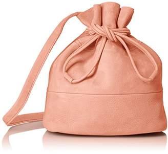Beau're (ビュレ) - [ヴュレ] Beaure ビュレ 本革 カウレザー 巾着 ショルダー IQ-2348 PK ピンク
