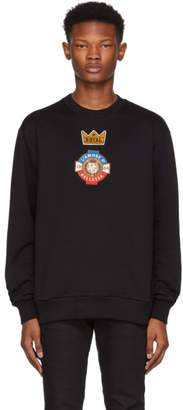 Dolce & Gabbana Black Small Crown Sweatshirt