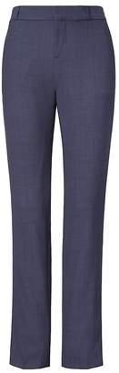 Banana Republic Ryan Slim Straight-Fit Lightweight Wool Solid Pant
