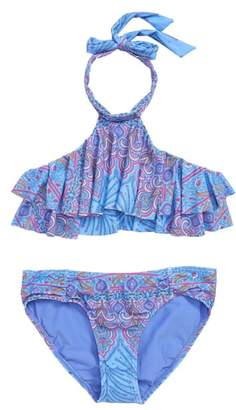 O'Neill Evie Flounce Two-Piece Swimsuit