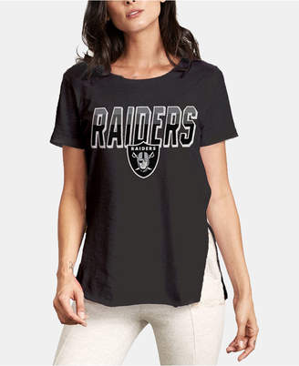 Authentic Nfl Apparel Women Oakland Raiders Short Sleeve T-Shirt