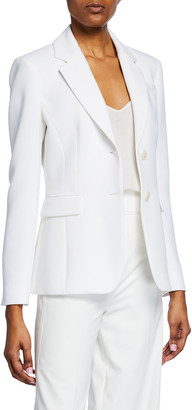 Altuzarra Two-Button Crepe Blazer