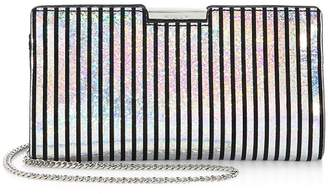 Milly Women's Small Frame Leather Clutch
