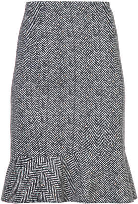 Marc Cain patterned fitted skirt