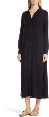 Frame Maxi Shirtdress