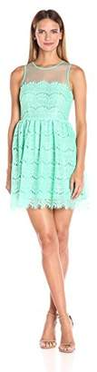 Ark & Co Women's Lace Fit and Flare Dress
