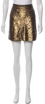 Massimo Dutti Sequined Mini Skirt w/ Tags