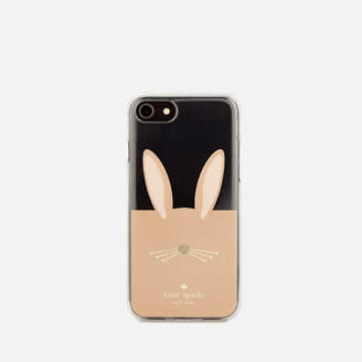 Kate Spade Women's Rabbit iPhone 8 Cover - Clear/Multi
