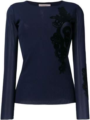 D-Exterior D.Exterior lace detail blouse