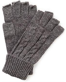 Gregory Ladner Cable Knit Fingerless Glove