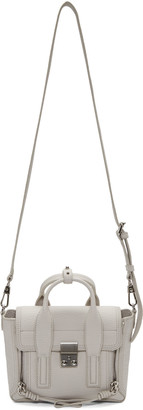 3.1 Phillip Lim Grey Mini Pashli Satchel $695 thestylecure.com
