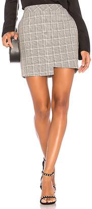J.o.a. Asymmetric Mini Skirt
