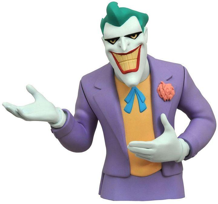 Diamond select toys Batman Animated Series Joker Bust Bank by Diamond Select Toys