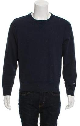 Rag & Bone Woven Crew Neck Sweatshirt