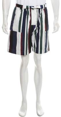 Marni Striped Casual Shorts