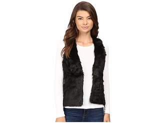 Stetson Faux Fur Cropped Vest Women's Vest