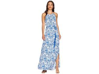 Karen Kane Halter Maxi Dress Women's Dress