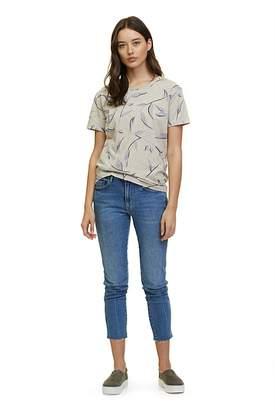 Flax Floral Print T-Shirt