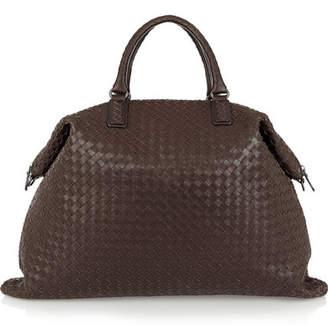 Bottega Veneta - Convertible Intrecciato Leather Tote - Chocolate $4,050 thestylecure.com