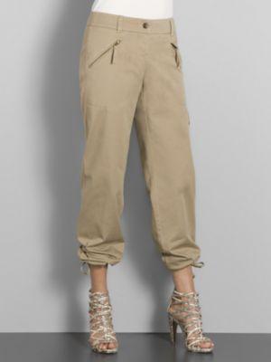 City Style Zip Pocket Cargo Pants