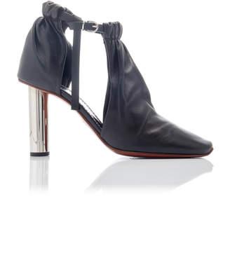 Proenza Schouler Cutout Lambskin Ankle Booties