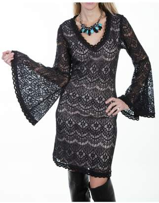 Scully Black Lace Dress