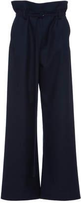 Marni Virgin Wool High Waist Paper Bag Trouser
