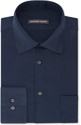 Geoffrey Beene Men's Fitted Wrinkle Free Bedford Corduroy Dress Shirt