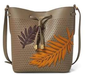 Lauren Ralph Lauren Leather Mini Crossbody Bag
