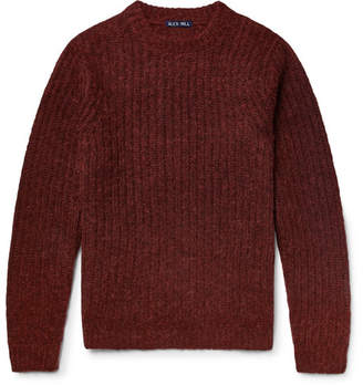 Alex Mill Ribbed Wool-Blend Sweater