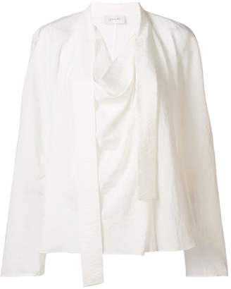 Lemaire pussy bow blouse
