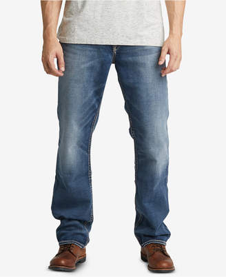 Silver Jeans Co. Men Eddie Relaxed-Fit Tapered Stretch Jeans