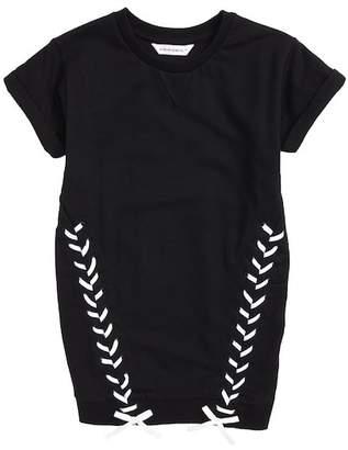 Little Eleven Paris Adorn Sweatshirt Dress (Little Girls & Big Girls)