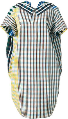 Marni checked collar dress
