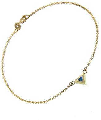 Jennifer Meyer Opal Triangle Inlay Bracelet