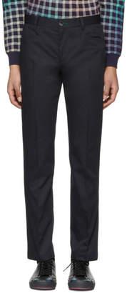 Paul Smith Navy Slim Stay Sharp Trousers