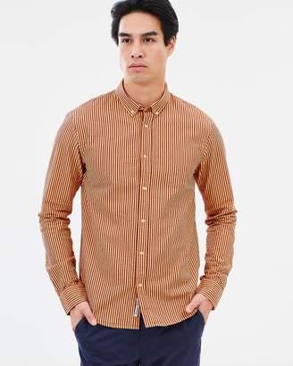 Regular Fit Seersucker Shirt