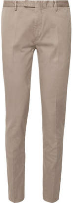 Boglioli Stone Slim-Fit Stretch-Cotton Drill Suit Trousers