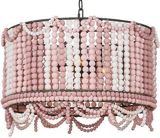 Regina-Andrew Design Malibu Drum Pendant - Weathered Pink - Regina Andrew Design