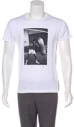 Dolce & Gabbana Woven Muhammad Ali T-Shirt